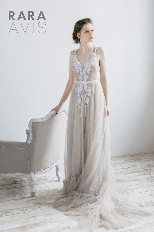 Свадебное платье напрокат Rara Avis Свадебное платье Agnez - фото 1