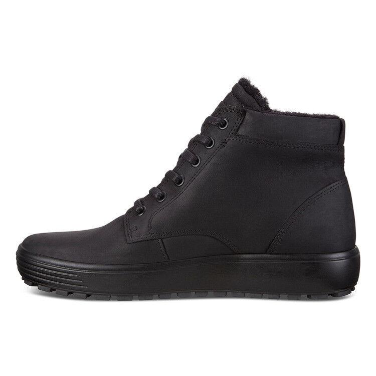Обувь мужская ECCO Кеды высокие SOFT 7 TRED 450194/02001 - фото 2