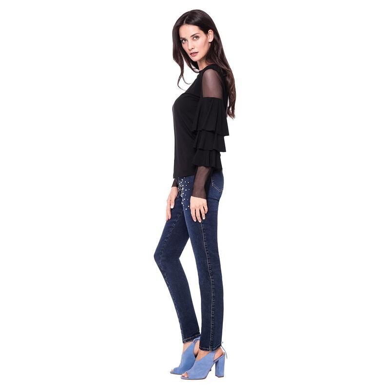 Кофта, блузка, футболка женская L'AF Блузка Kolin D24J - фото 1