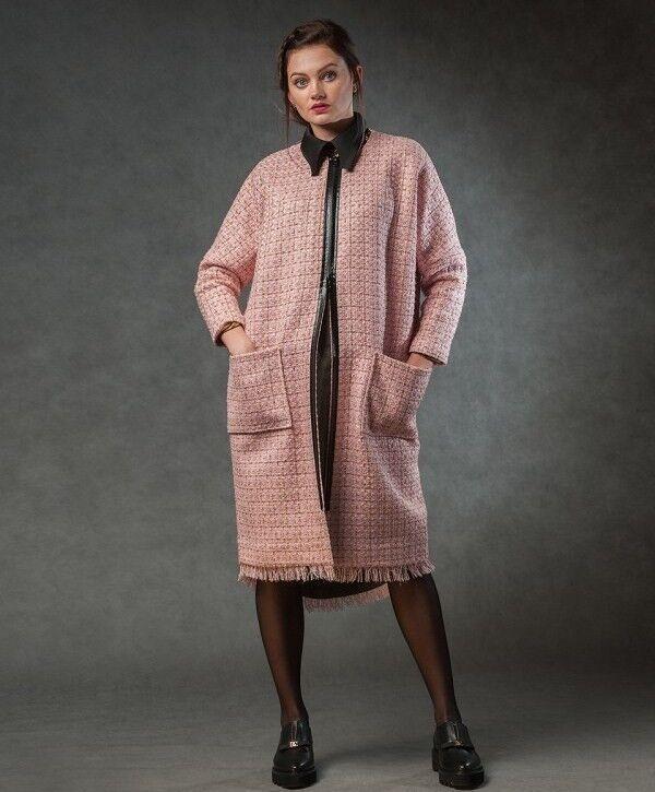 Верхняя одежда женская MISUTERI Пальто Seru Pink MSS0094 - фото 1