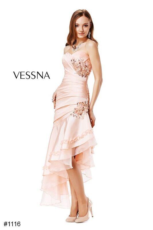 Вечернее платье Vessna Вечернее платье арт.1116 из коллекции vol.1 & vol.2 & vol.3 - фото 1