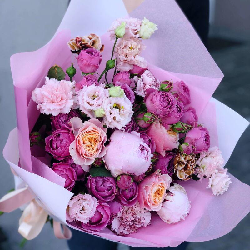 Магазин цветов Кошык кветак Букет классический №16 - фото 1