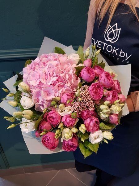 Магазин цветов Cvetok.by Букет «Мальва» - фото 2