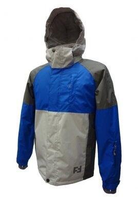 Спортивная одежда Free Flight Мужская мембранная горнолыжная куртка серо-синяя - фото 1