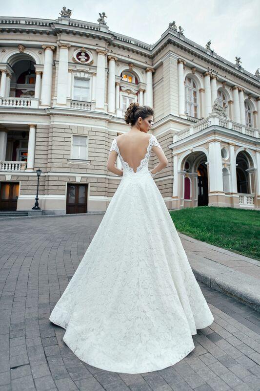 Свадебное платье напрокат Nicole Платье свадебное Agata - фото 1
