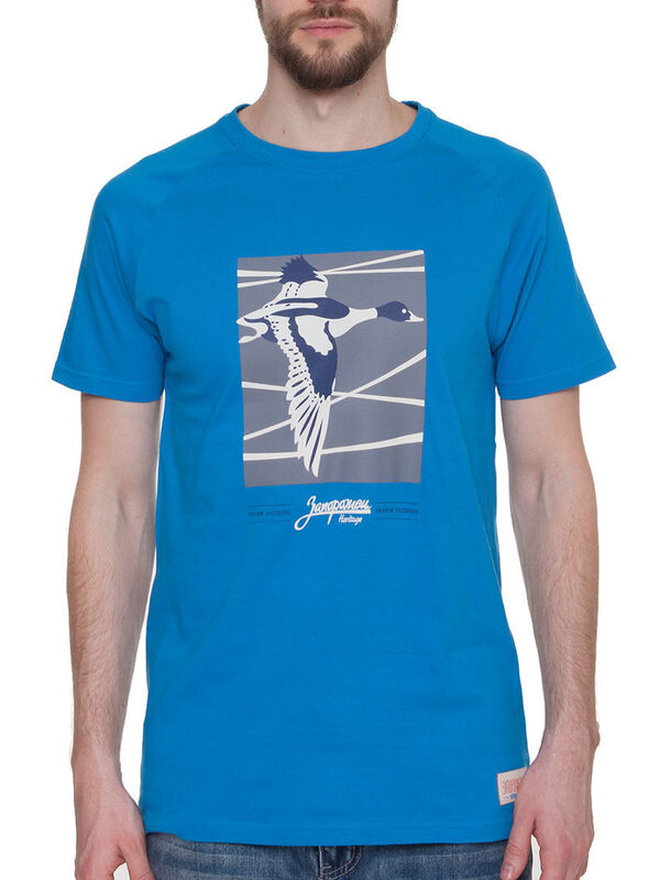 Кофта, рубашка, футболка мужская Запорожец Футболка «Perelet» SKU0114000 - фото 1