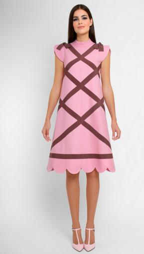 Платье женское Pintel™ Платье А-силуэта из натуральной шерсти Andreché - фото 1