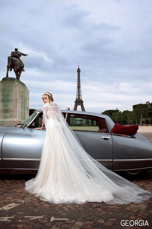 Свадебный салон Bonjour Galerie Платье свадебное GEORGIA из коллекции BON VOYAGE - фото 6