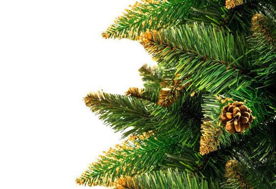 Елка и украшение Christmas Tree Сосна «LUX Золотые побеги» 1.5м - фото 2