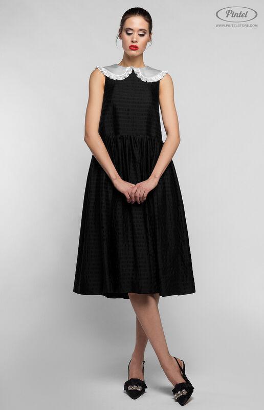 Платье женское Pintel™ Миди-платье свободного силуэта Bernice - фото 3