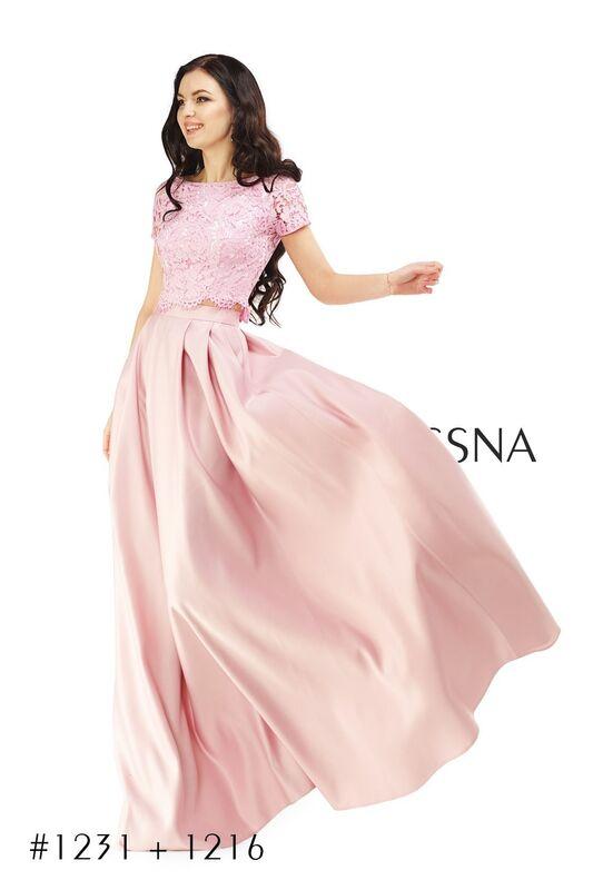 Вечернее платье Vessna Топ кружевной и Юбка длинная арт.1231 из коллекции VESSNA Party - фото 1