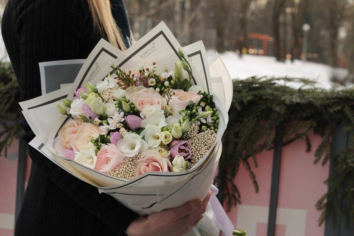 Магазин цветов Cvetok.by Букет «Ванильный фреш» - фото 1
