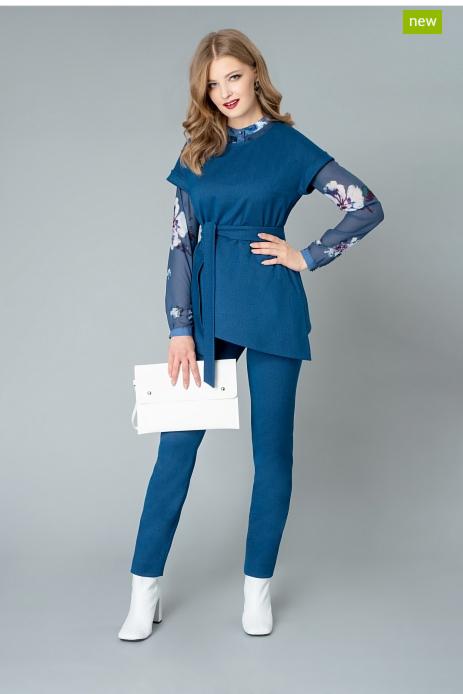 Пиджак, жакет, жилетка женские Elema Жилет женский 1К-9418-1 - фото 1