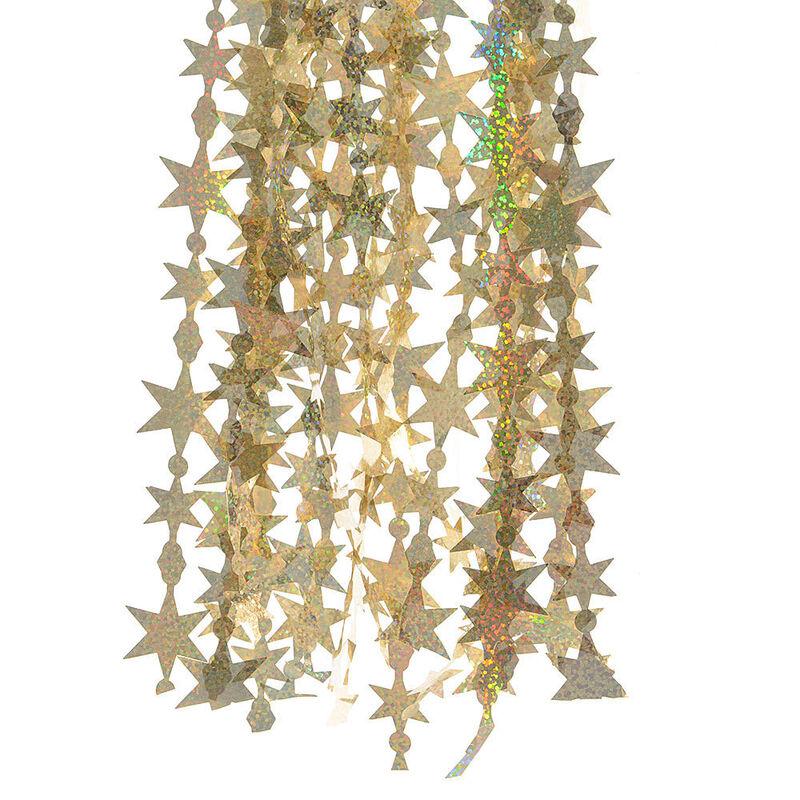 Елка и украшение mb déco Елочная мишура «Звезды» - фото 3