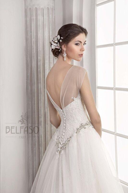 Свадебное платье напрокат Belfaso Платье свадебное Doroti - фото 5
