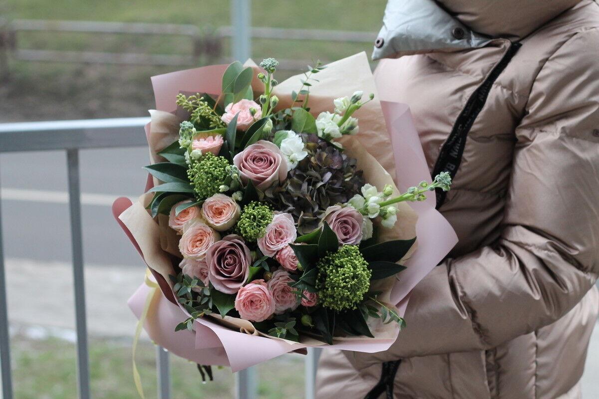 Магазин цветов Cvetok.by Букет «Пастель» - фото 2