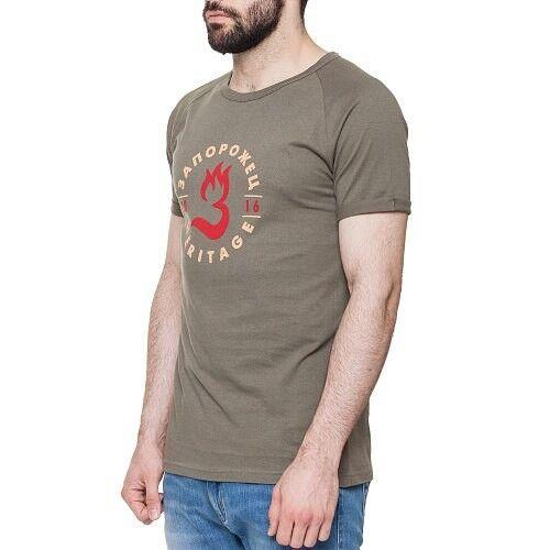 Кофта, рубашка, футболка мужская Запорожец Футболка «Пламя» - фото 3