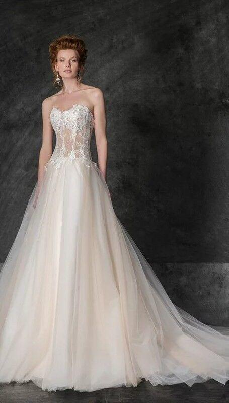 Свадебное платье напрокат Edelweis Платье свадебное «Naples» - фото 1