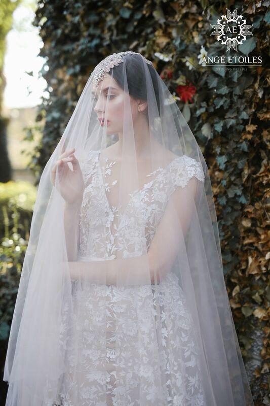 Свадебное платье напрокат Ange Etoiles Платье свадебное AEriality Collection Velari - фото 5
