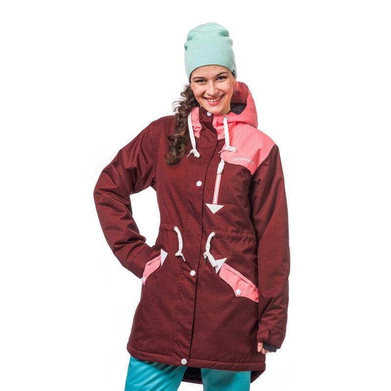 Спортивная одежда Horsefeathers Сноубордическая куртка Sondra 1617 бордовый - фото 1