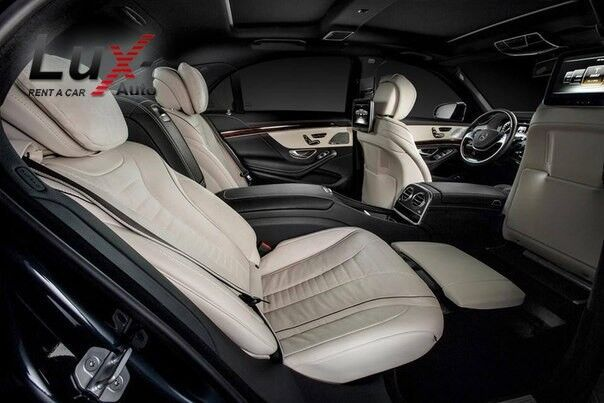 Прокат авто Mercedes-Benz S-класс W222 S500 L Черный - фото 3