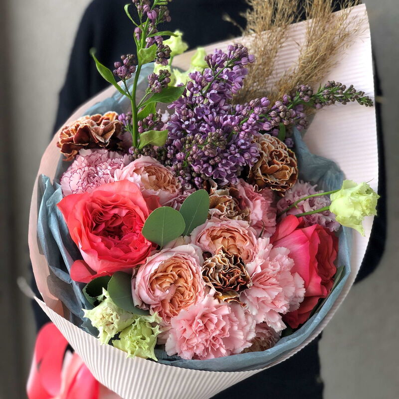 Магазин цветов Кошык кветак Букет классический №19 - фото 1