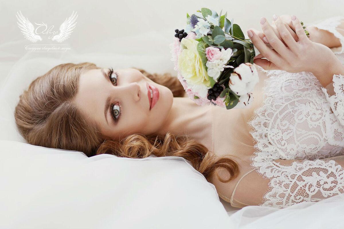 Свадебное платье напрокат ALIZA Платье свадебное «Amor 2» Soffito - фото 4