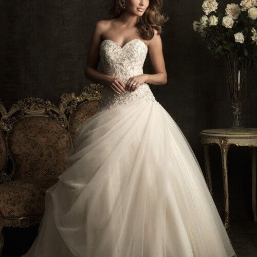 Свадебное платье напрокат Allure Bridals Платье свадебное 8901 - фото 1