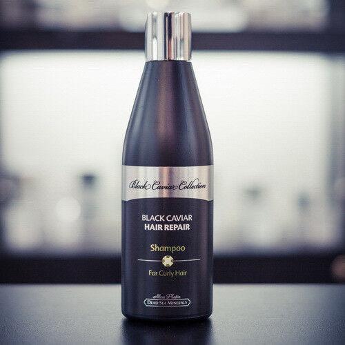 Уход за волосами Mon Platin Восстанавливающий шампунь для вьющихся волос с экстрактом черной икры, 400 мл - фото 1