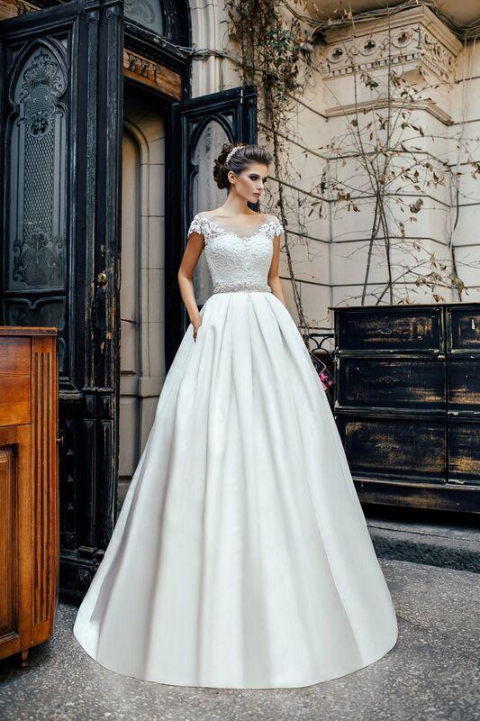 Свадебное платье напрокат Nicole Платье свадебное Olivia - фото 1