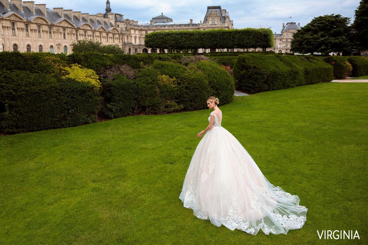 Свадебный салон Bonjour Galerie Свадебное платье VIRGINIA из коллекции BON VOYAGE - фото 2