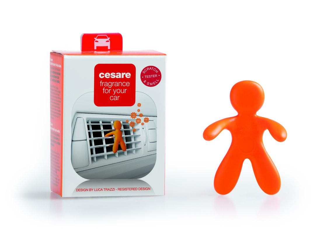Подарок на Новый год Mr & Mrs Fragrance Ароматизатор воздуха для автомобиля Cesare - фото 3