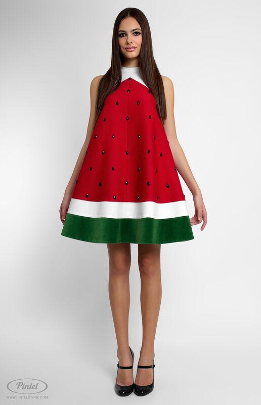 Платье женское Pintel™ Комбинированное мини-платье  Fati - фото 1