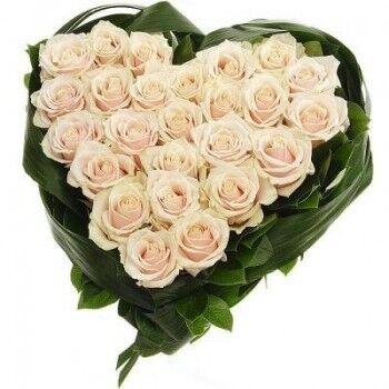 Магазин цветов Ветка сакуры Композиция «Сердце» 1 - фото 1