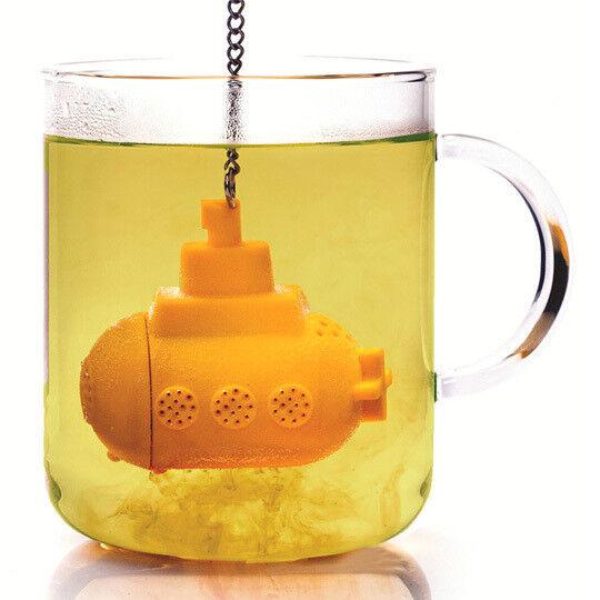 Подарок на Новый год OTOTO Ёмкость заварочная Yellow submarine - фото 1