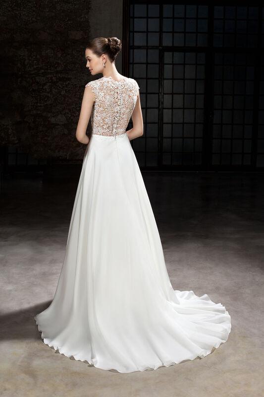 Свадебное платье напрокат Cosmobella Свадебное платье 7865 - фото 2