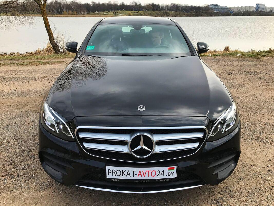 Прокат авто Mercedes-Benz E220D Avantgarde 2019 - фото 2