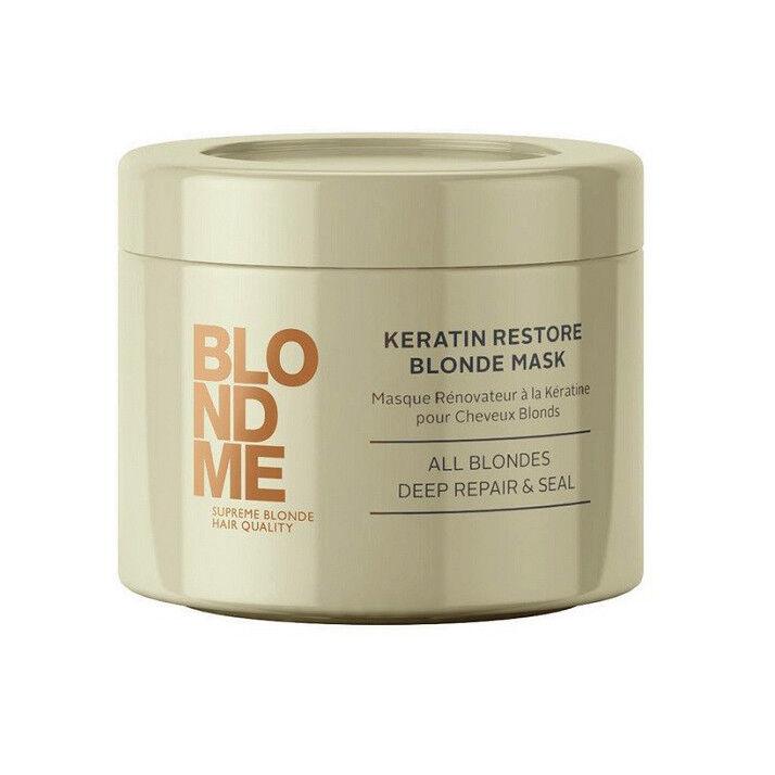 Уход за волосами Schwarzkopf Маска «Кератиновое восстановление» Blond Me - фото 1