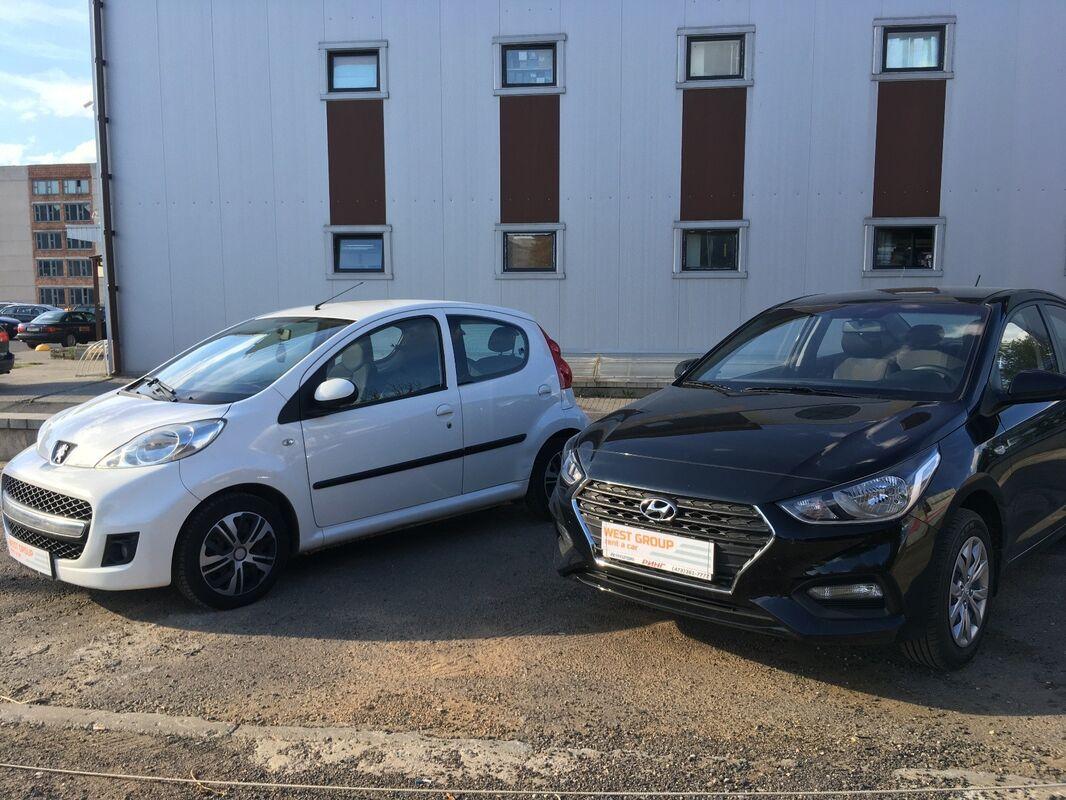 Аренда авто Peugeot 107 белый - фото 11