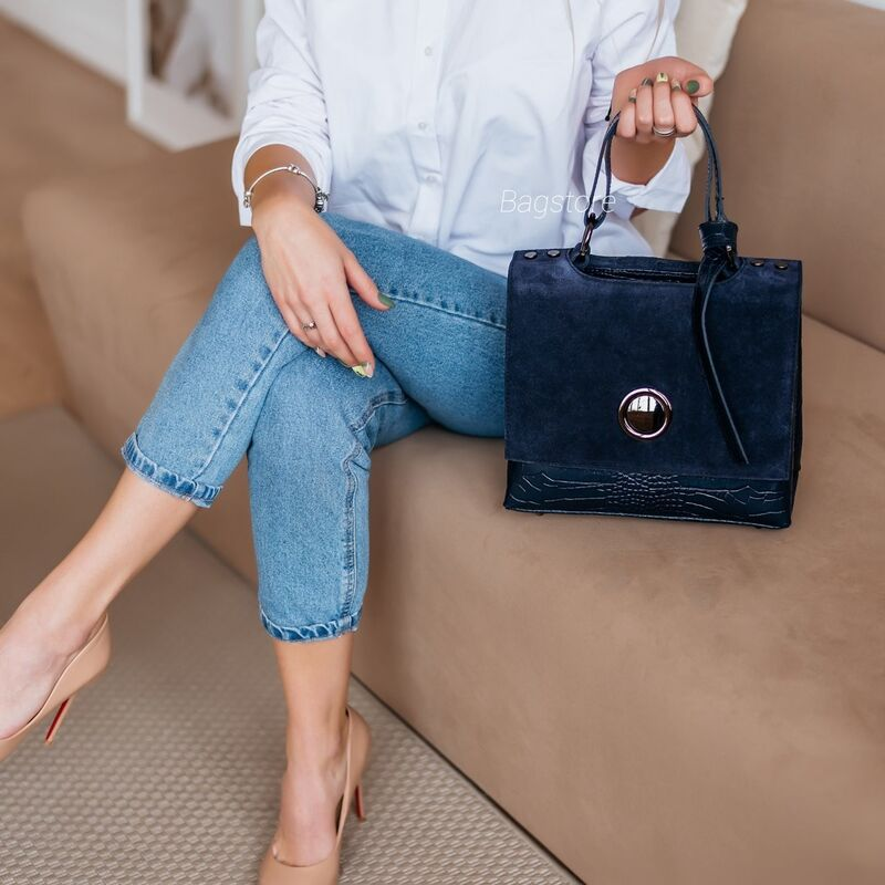 Магазин сумок Vezze Кожаная женская сумка C00543 - фото 3