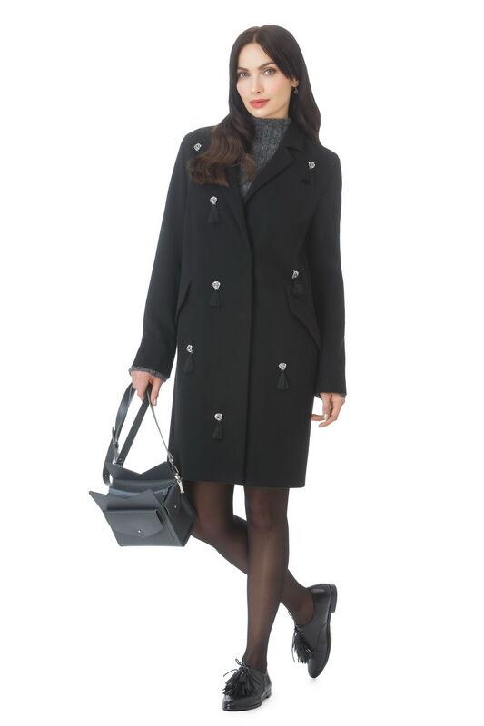Верхняя одежда женская Elema Пальто женское демисезонное Т-7312 - фото 1