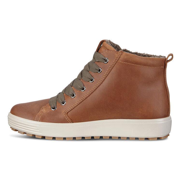 Обувь женская ECCO Кеды высокие SOFT 7 TRED 450163/02291 - фото 2