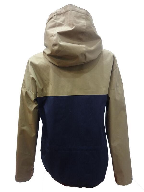 Спортивная одежда Free Flight Женская ветровка серо-синяя - фото 2