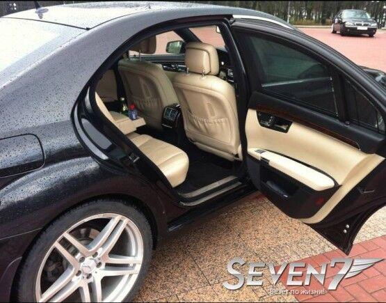 Аренда авто Mercedes-Benz S-class W221 long чёрный - фото 2