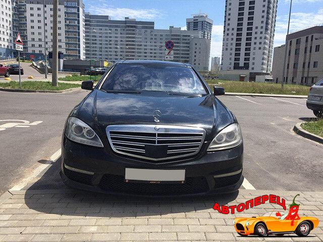 Прокат авто Mercedes-Benz w221 S-class long - фото 2