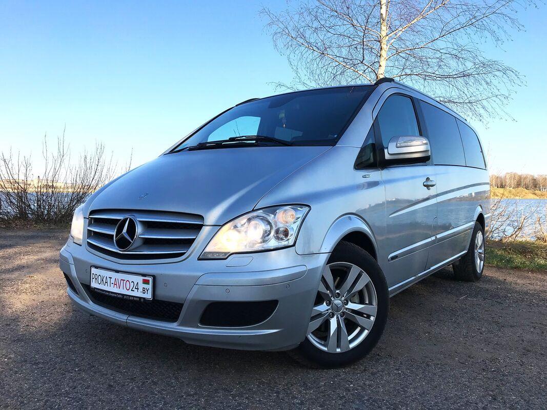 Прокат авто Mercedes-Benz Viano 2013 г.в. - фото 1