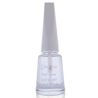 Декоративная косметика Flormar Средство для ускорения высыхания лака Quick Dry Extra Shine - фото 1