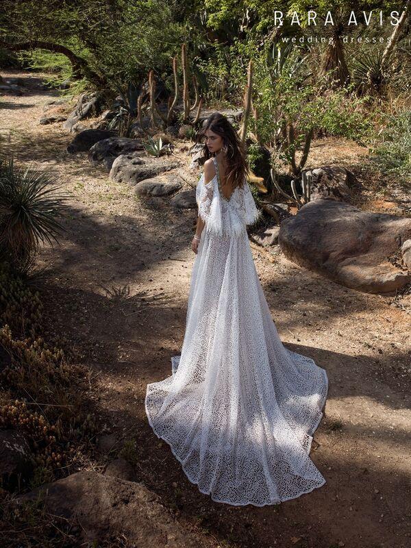 Свадебное платье напрокат Rara Avis Свадебное платье Wild Soul Haniel - фото 2