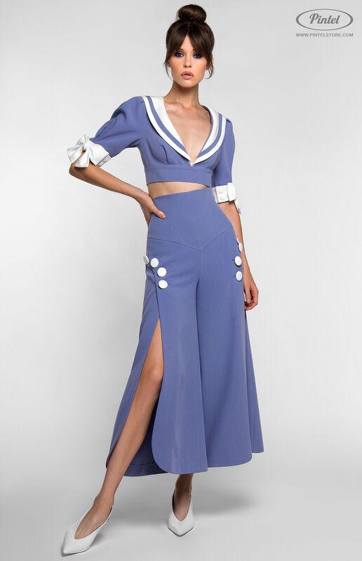 Костюм женский Pintel™ Комплект из болеро и брюк YANELLY - фото 4