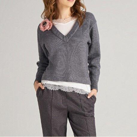 Кофта, блузка, футболка женская Mozart Джемпер женский w20049 - фото 1